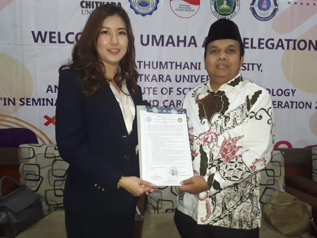 IAI Syarifuddin Lumajang Lakukan MoU dengan Dua Universitas Internasional